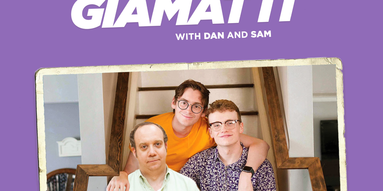 """Website for the podcast """"Giamatti! Giamatti! Giamatti!"""""""