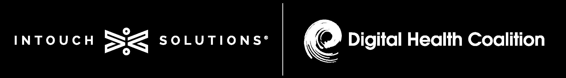 Intouch Solutions Logo & Digital Health Coalition Logo