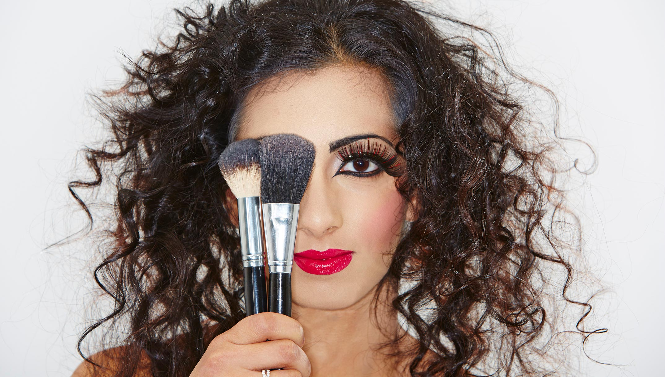 Make up arts shot by adrian forrest