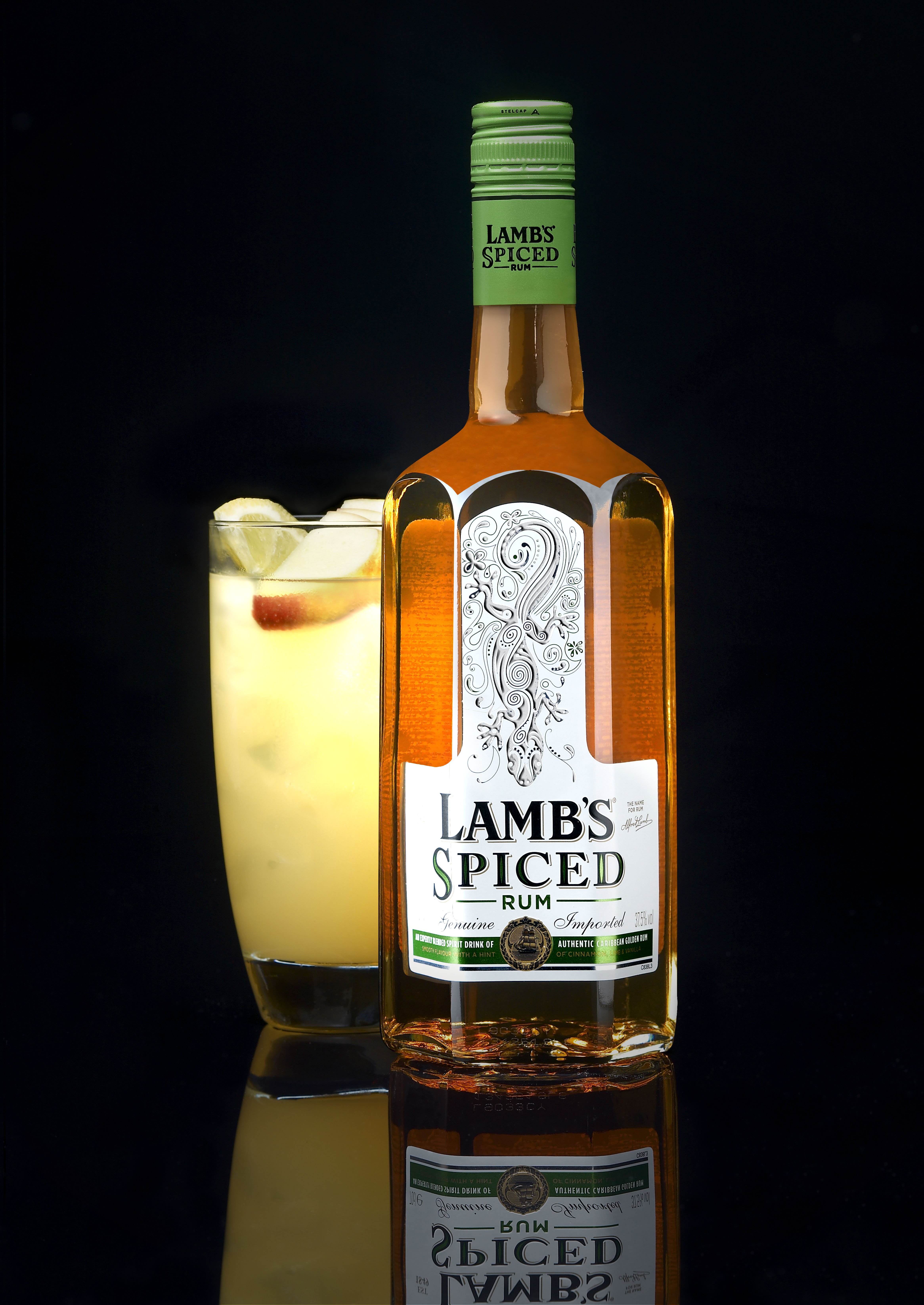 Lambs Rum shot by adrian forrest