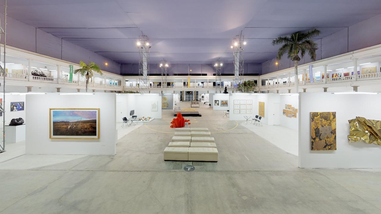 recorrido virtual de 5200 metros cuadrados de Art Lima en Barranco Lima Perú en 2019