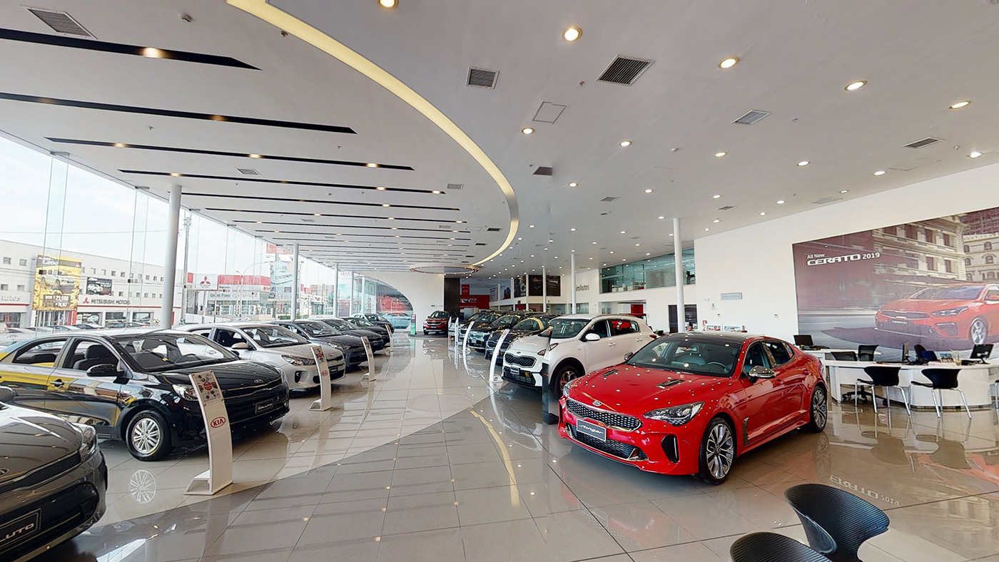 Showroom Kia, SKBergé en Perú