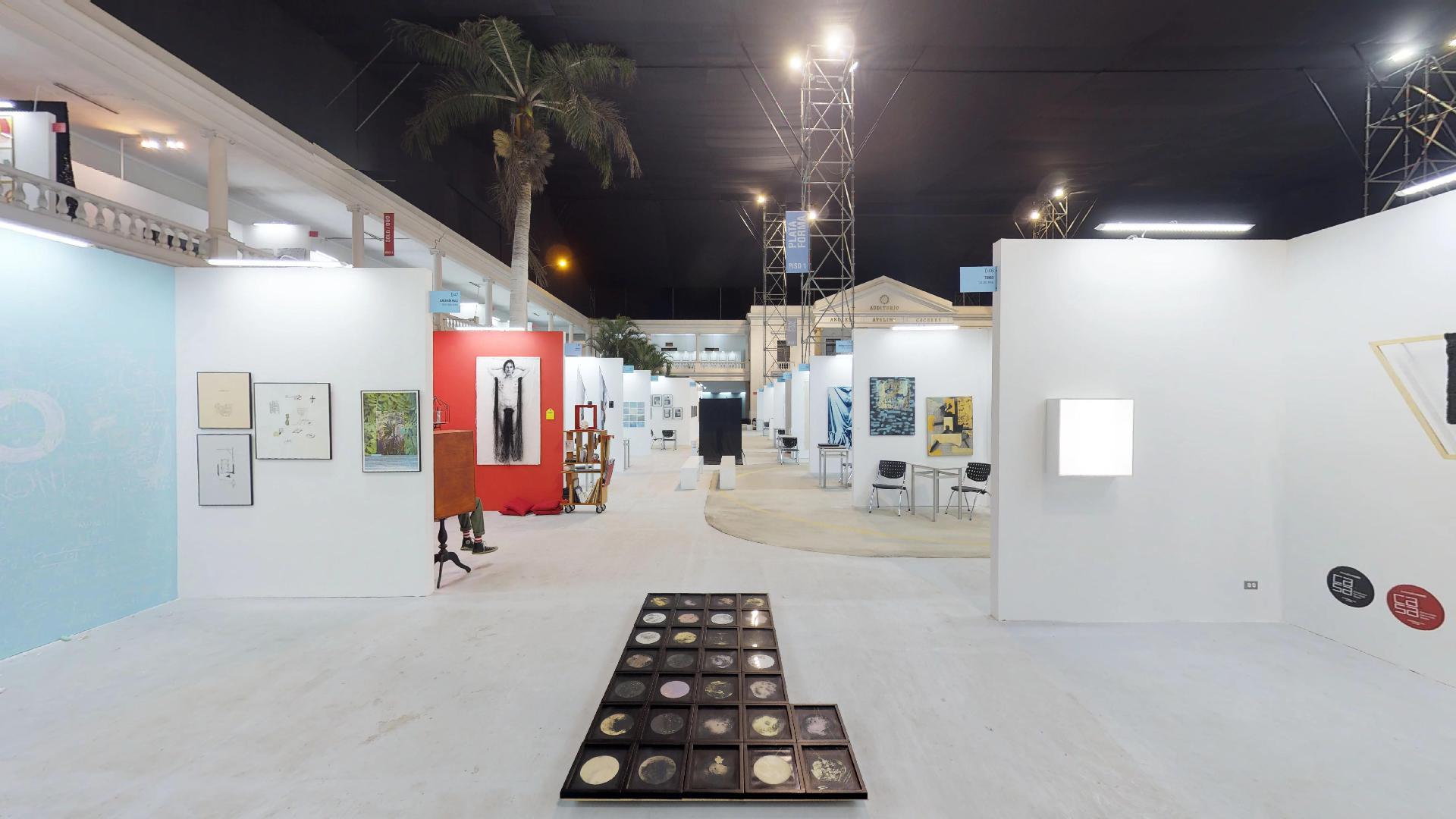 recorrido virtual de la feria art lima Perú 2018