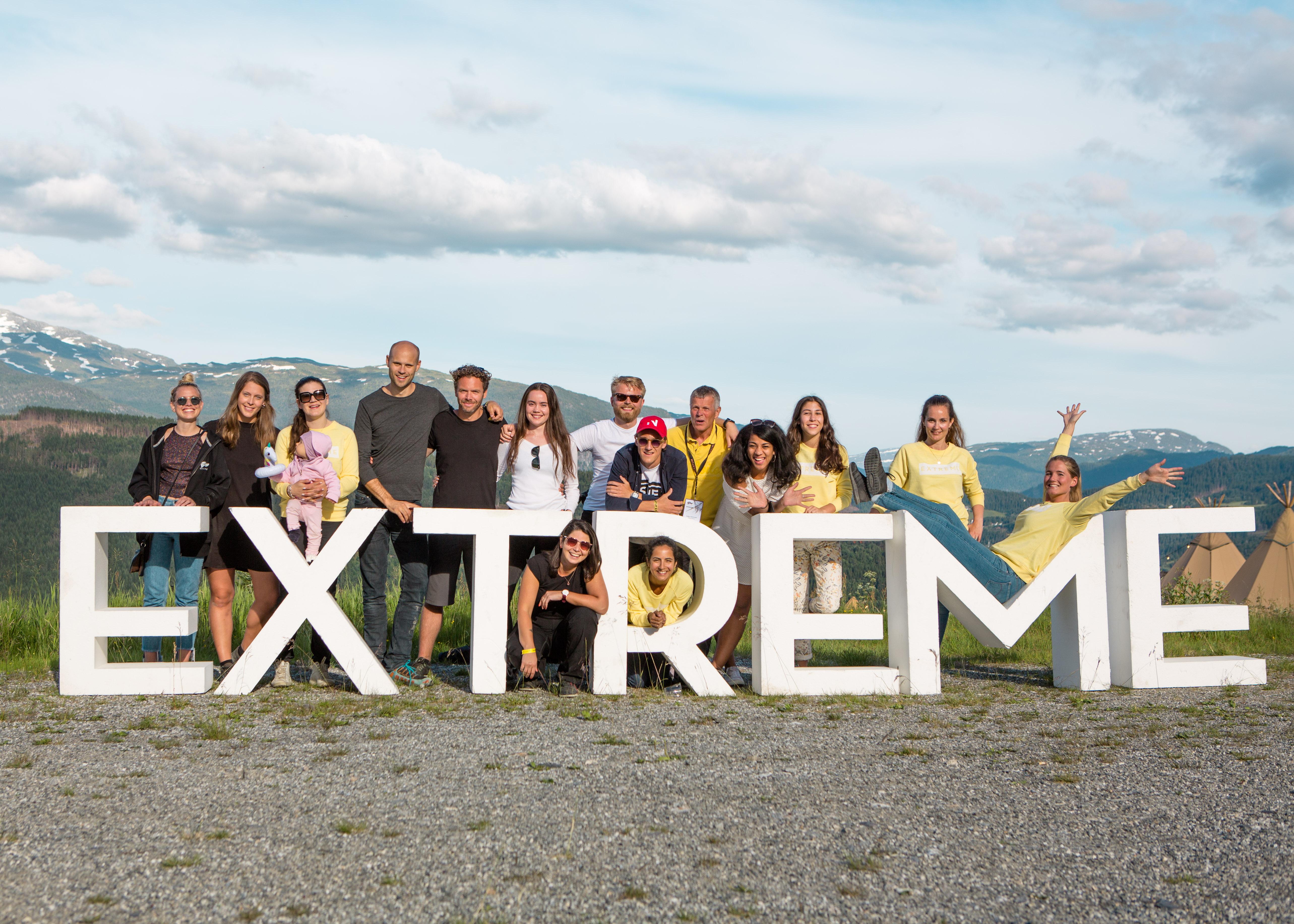 Team Extreme 2018. Foto: Fredrik Steen
