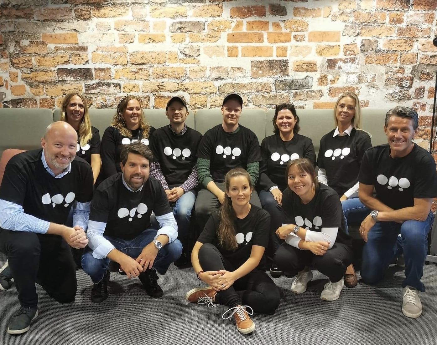 Gruppebilde av styringsgruppen til Innovasjonsuken OPP