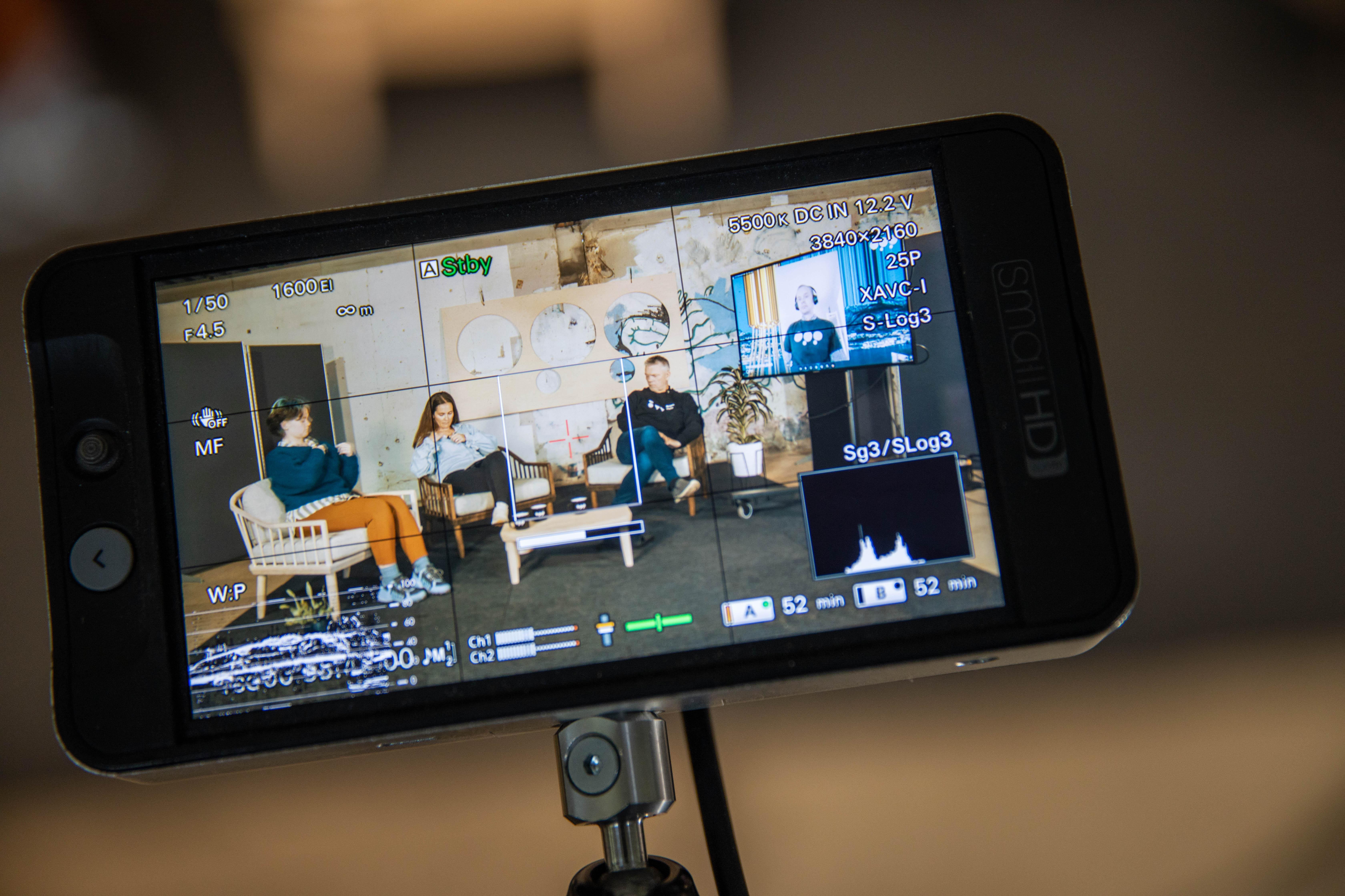 Mobilt studio og innovasjonssamtaler