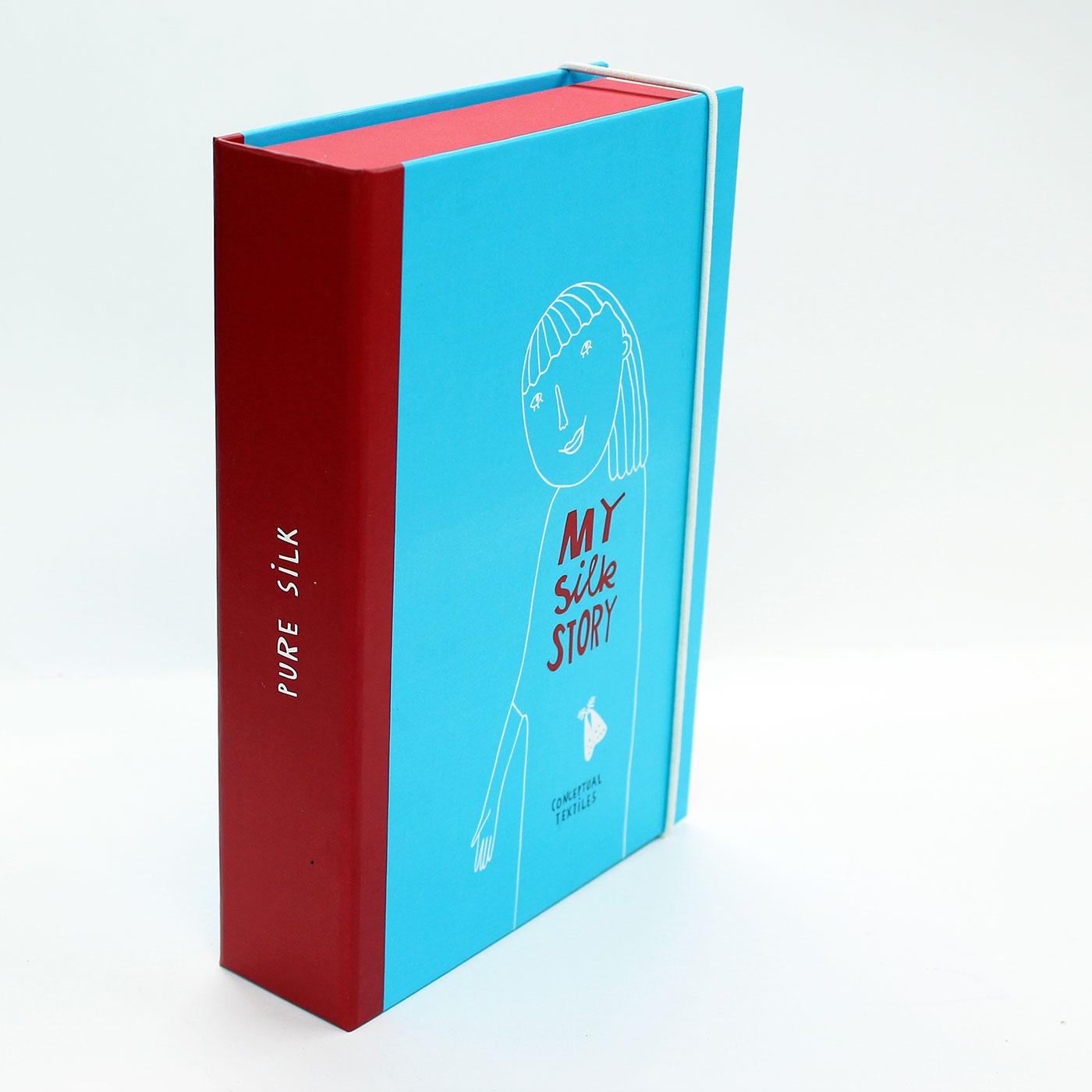 Коробка книга для эксклюзивных шелковых платков