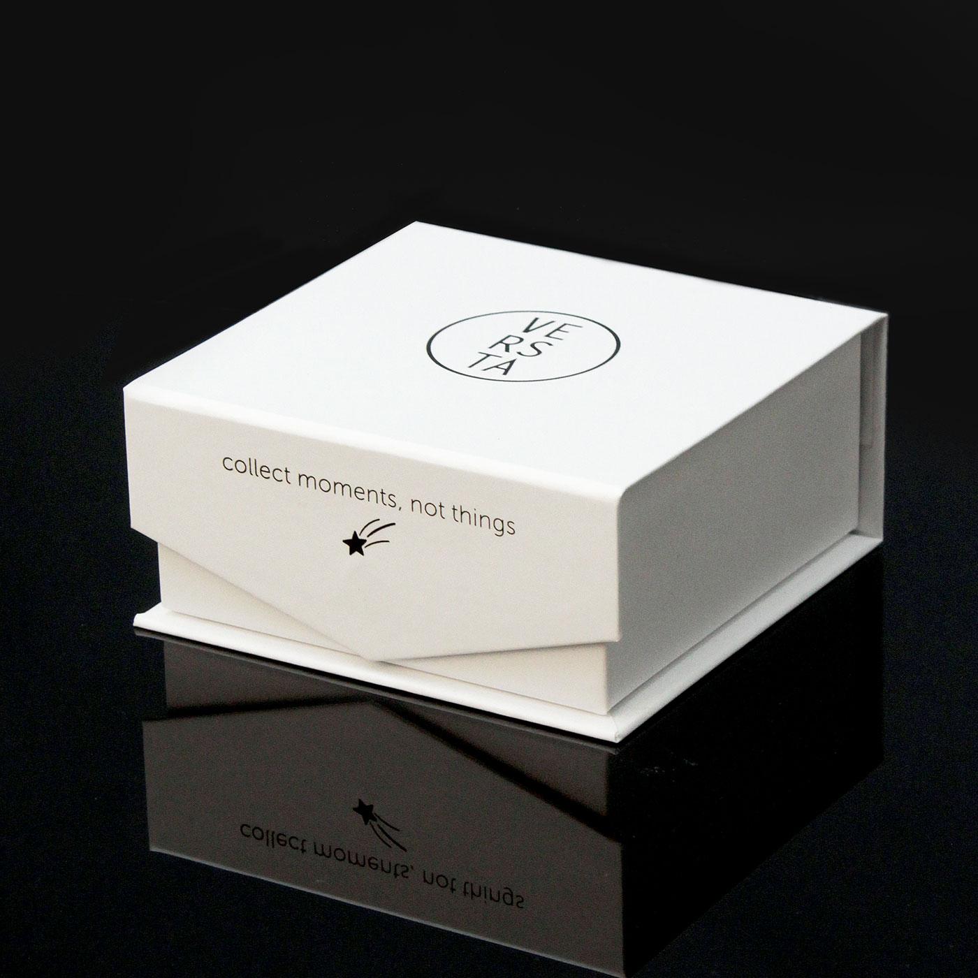 Кашированная ювелирная упаковка с ложементом