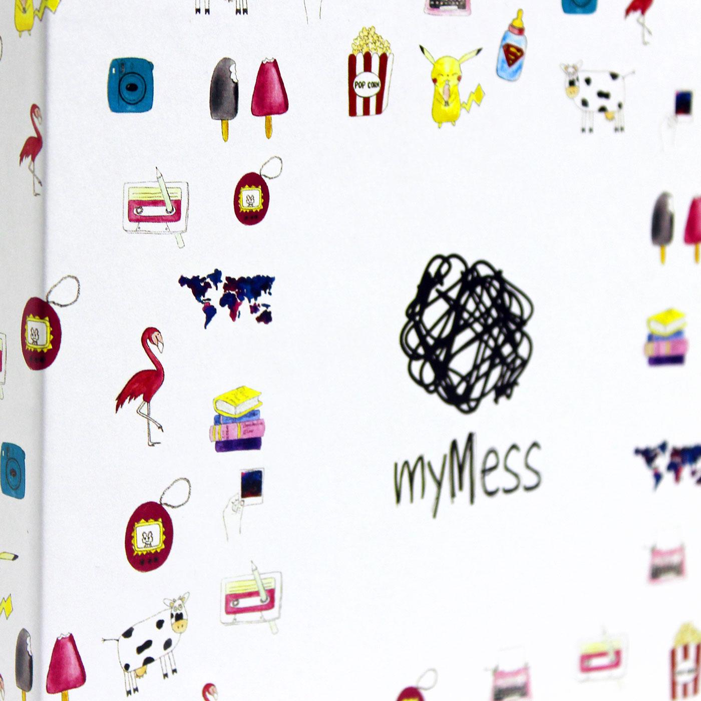 Кашированная коробка из переплетного картона для одежды