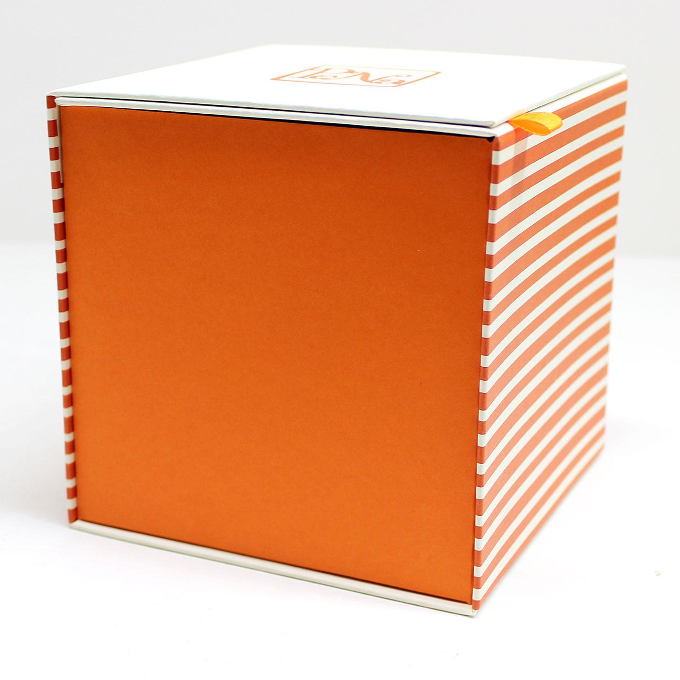 Подарочная коробка кубик с логотипом