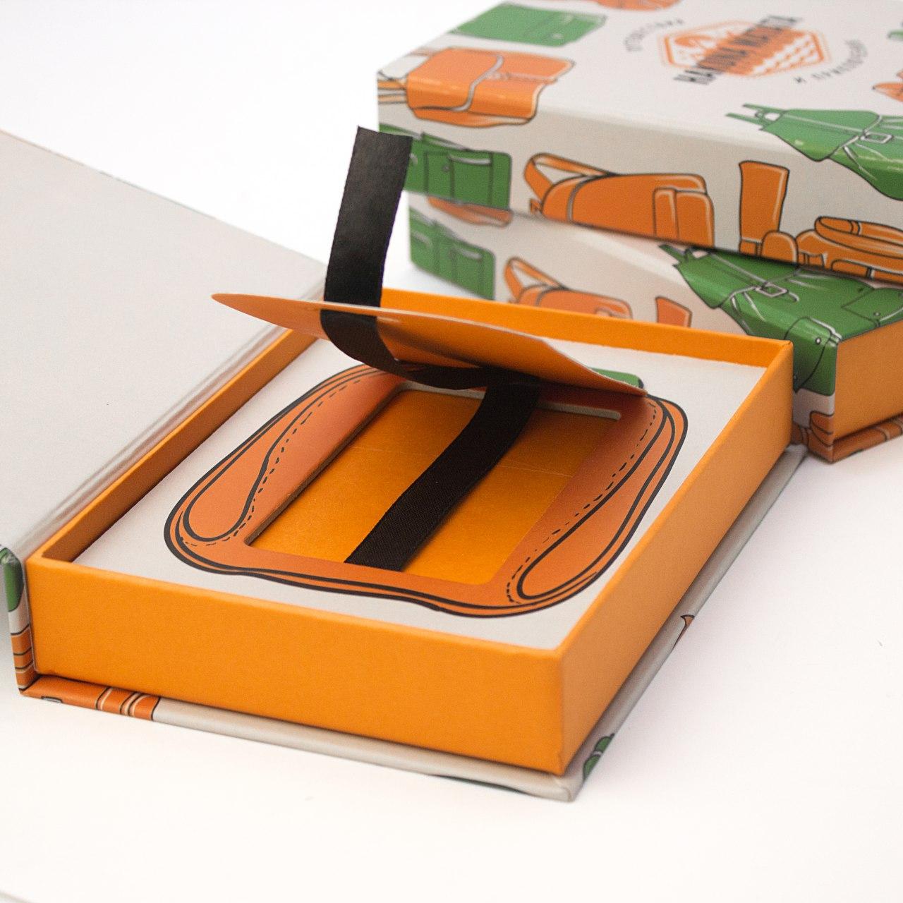 Кашированная коробочка для сертификата
