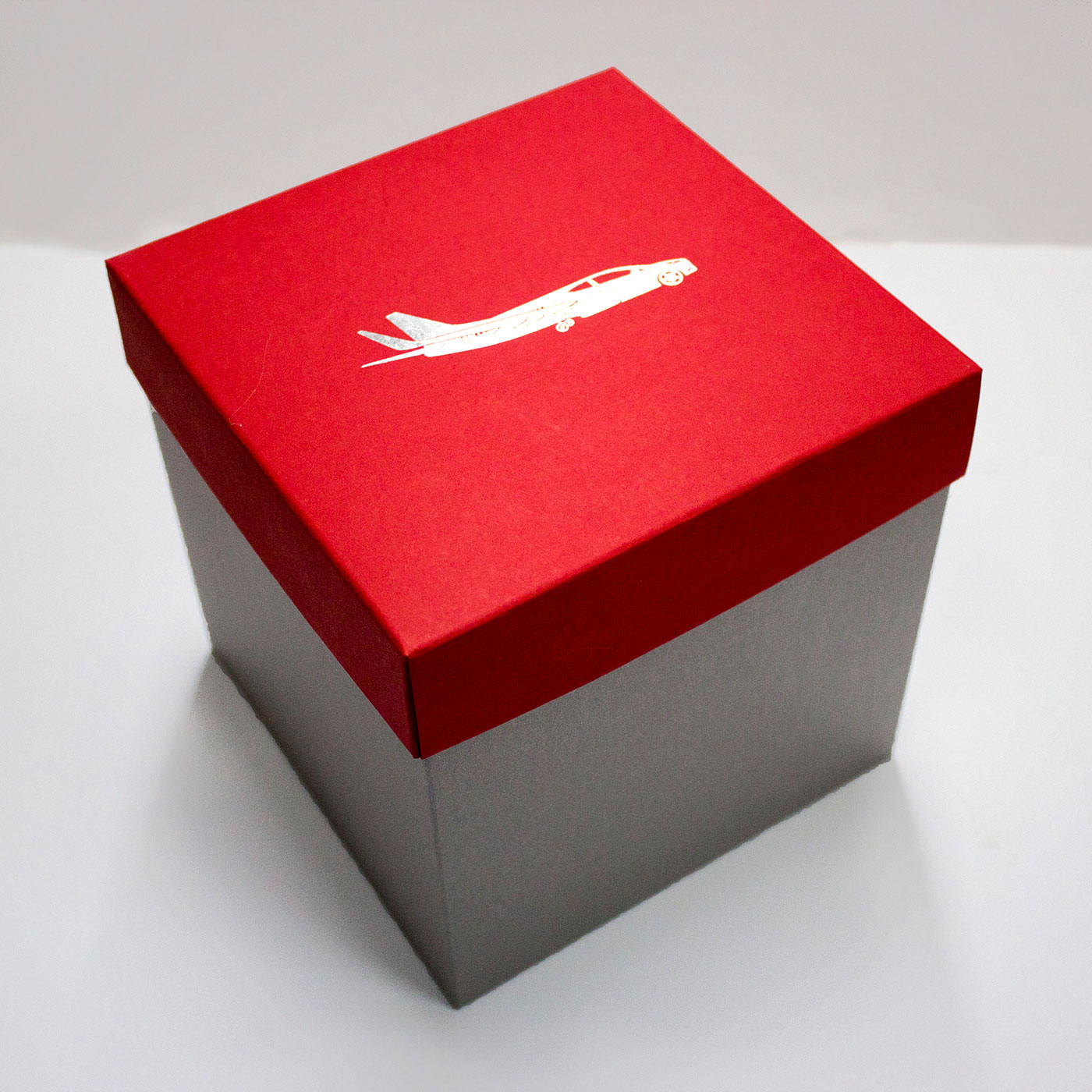 Коробка крышка-дно для корпоративного подарка