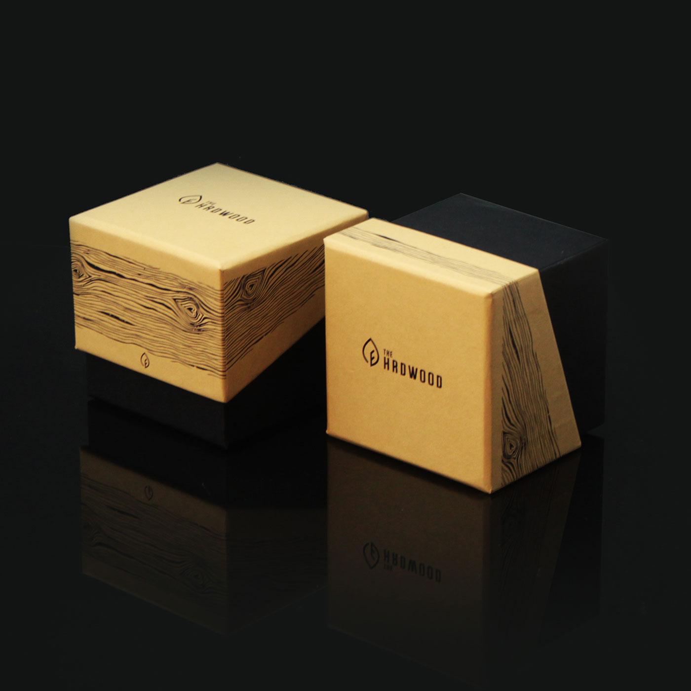 Коробка со скошенной крышкой для часов