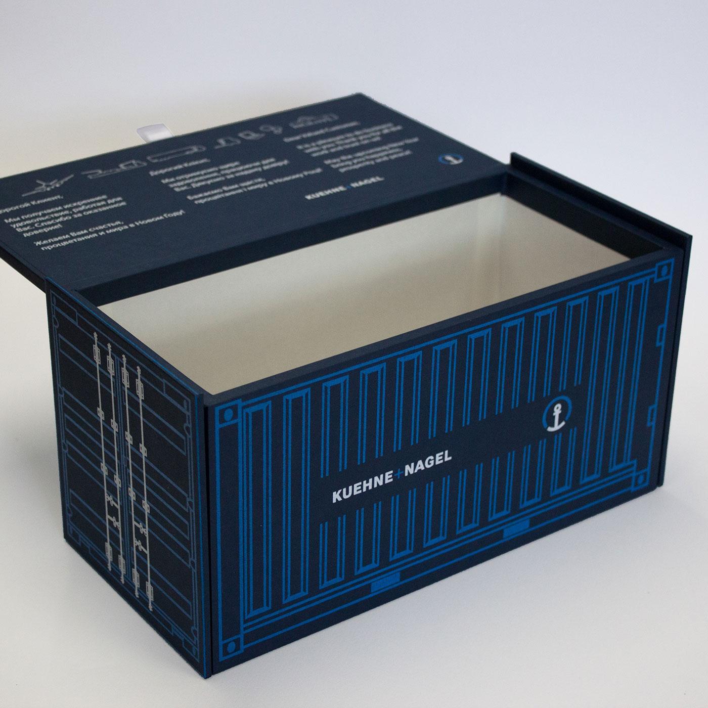 Коробка шкатулка в виде морского контейнера