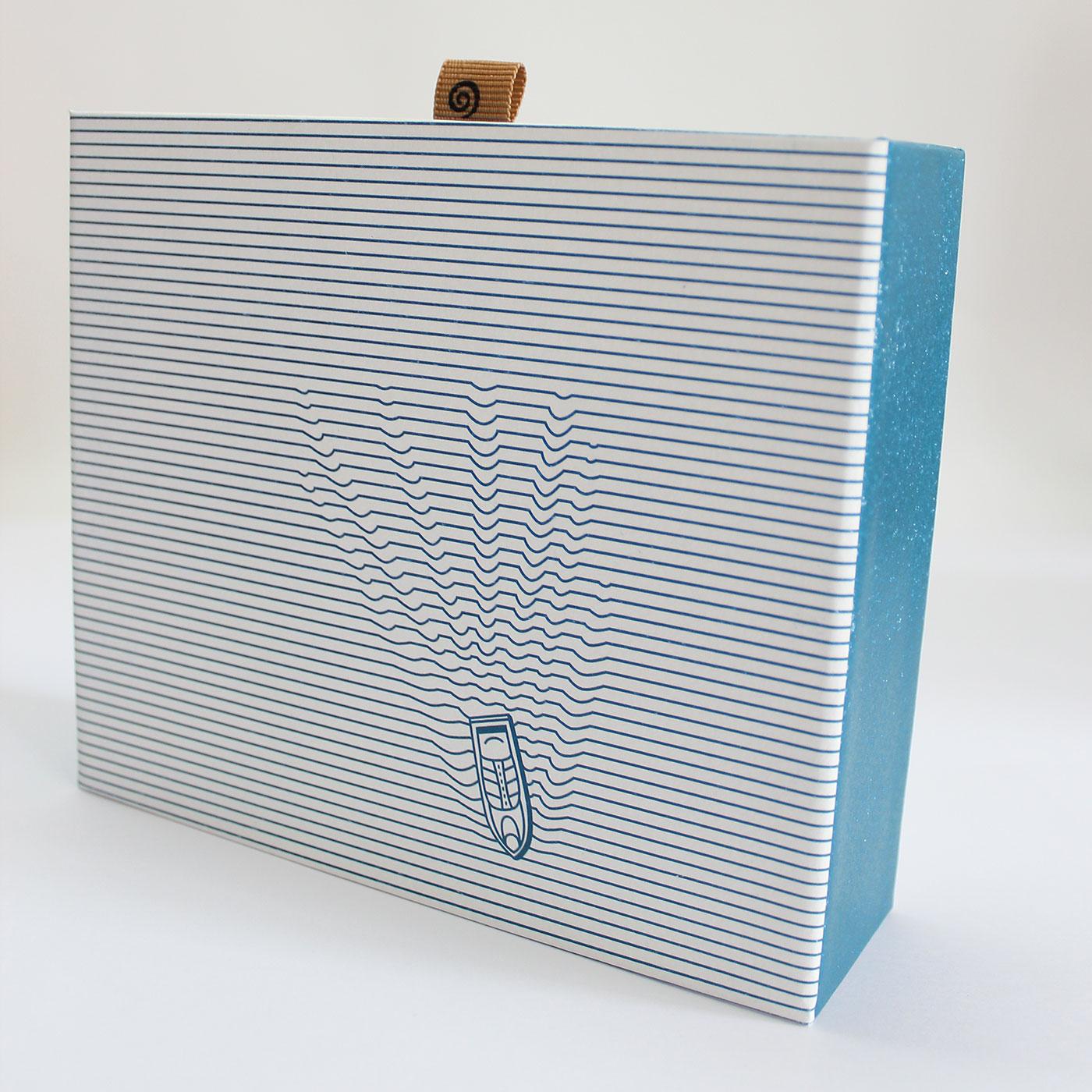 "Кашированная коробка слайдер ""Море"""