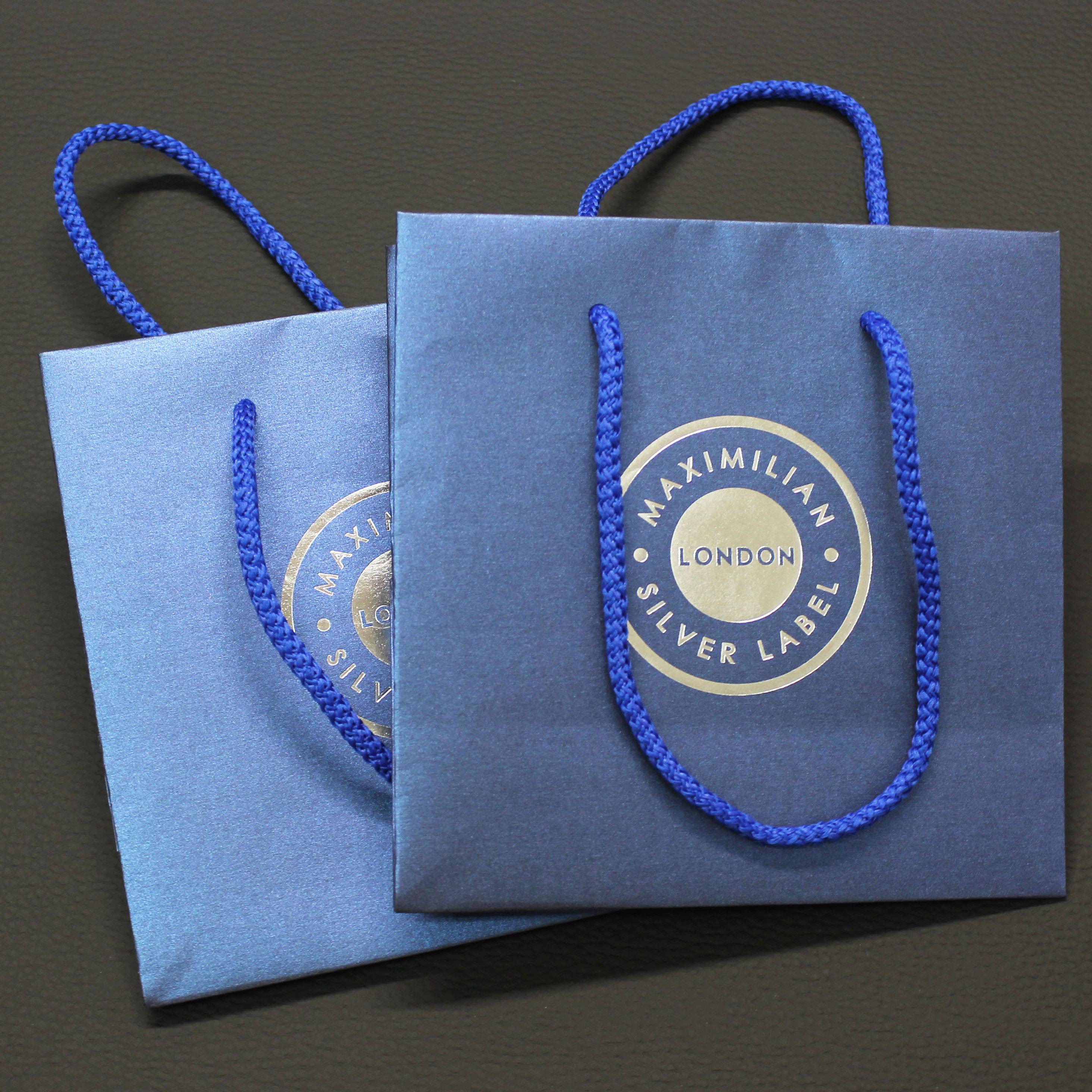 Маленькие пакеты для бренда украшений