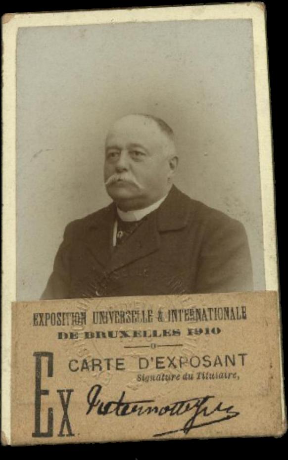 Jules Paternotte - Carte d'exposant