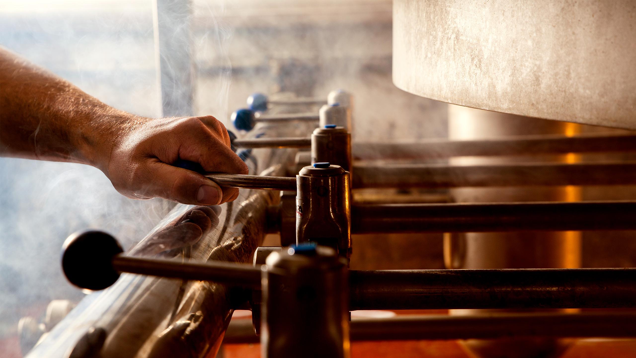 Lautering - La Binchoise Brewery Process