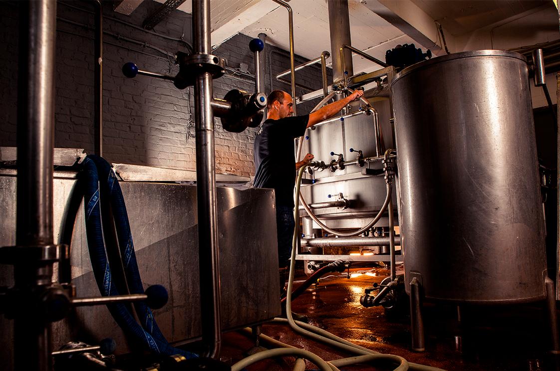 Mashing - La Binchoise Brewery Process