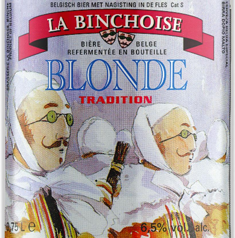 Etiquette La Binchoise Blonde Tradition
