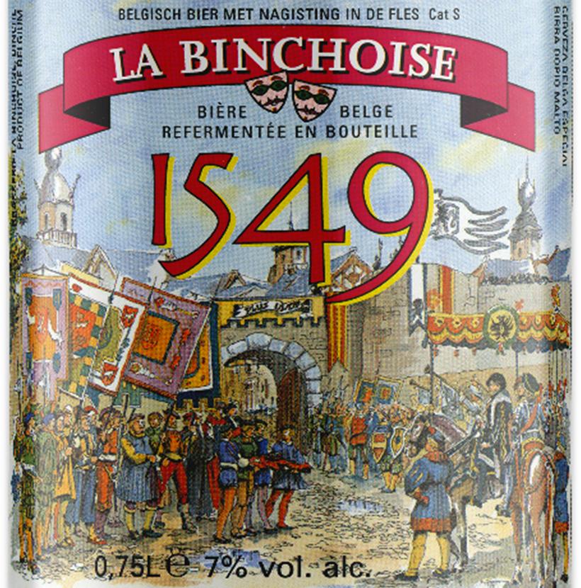 Label La Binchoise 1549