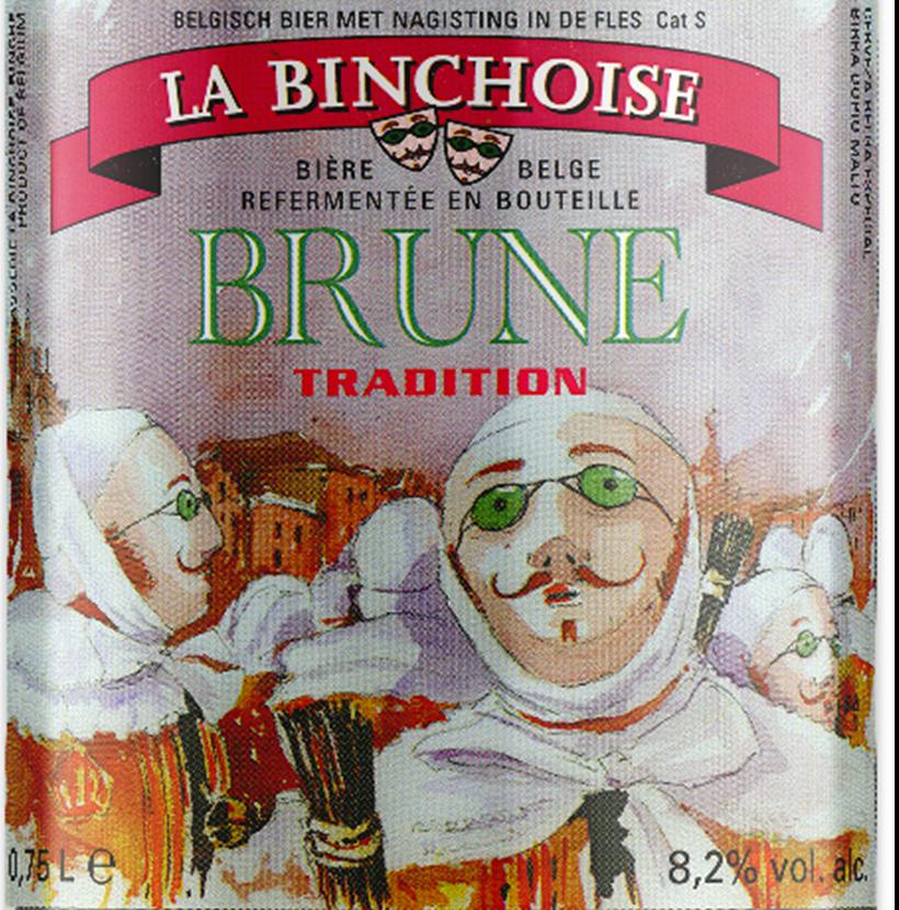 Etiquette La Binchoise Brune Tradition