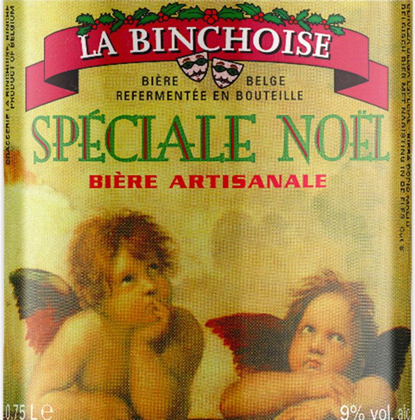Label La Binchoise Spéciale Noël