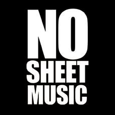 no sheet music