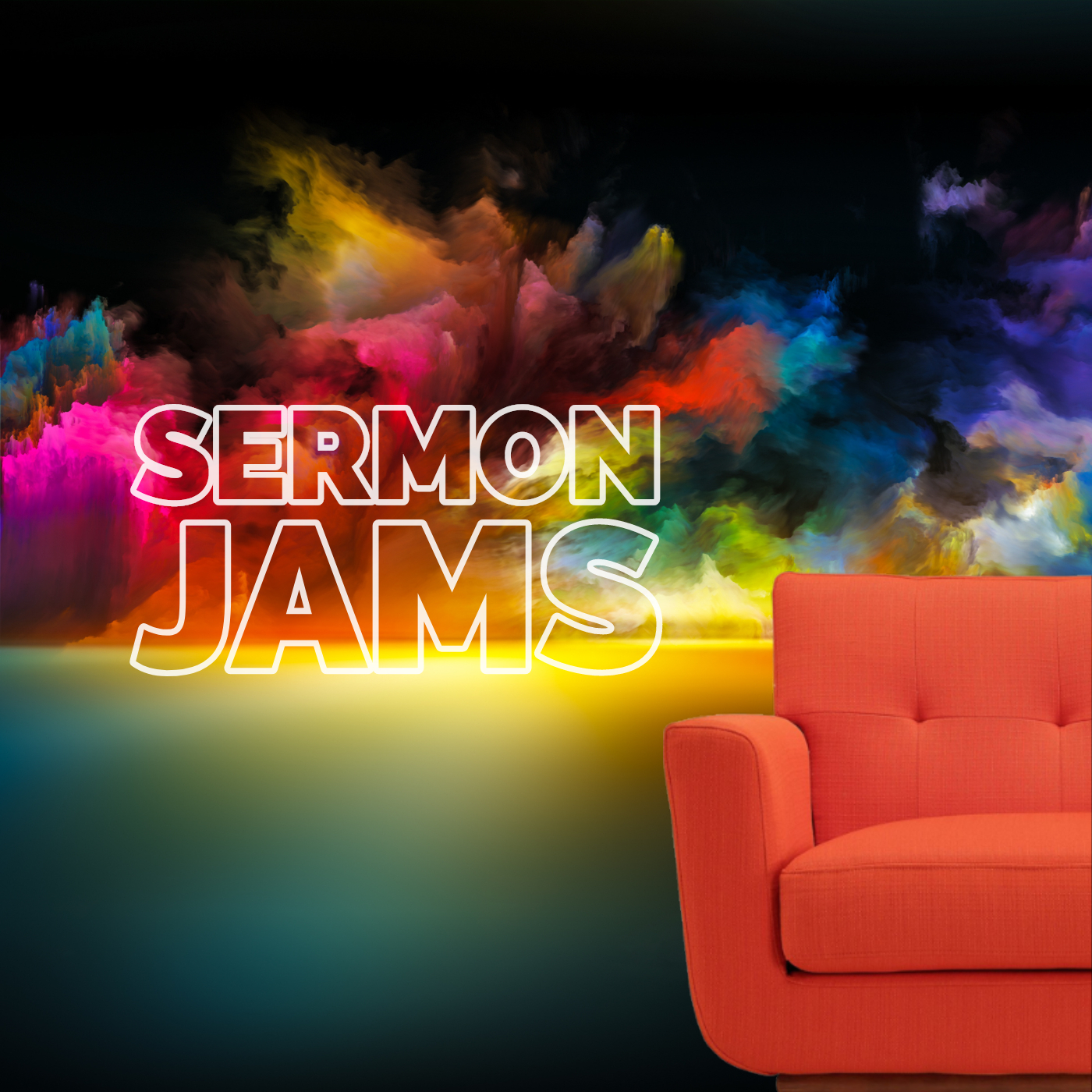 Sermon Jams is a podcast featuring reformed theological sermons transcribed primarily from YouTube.