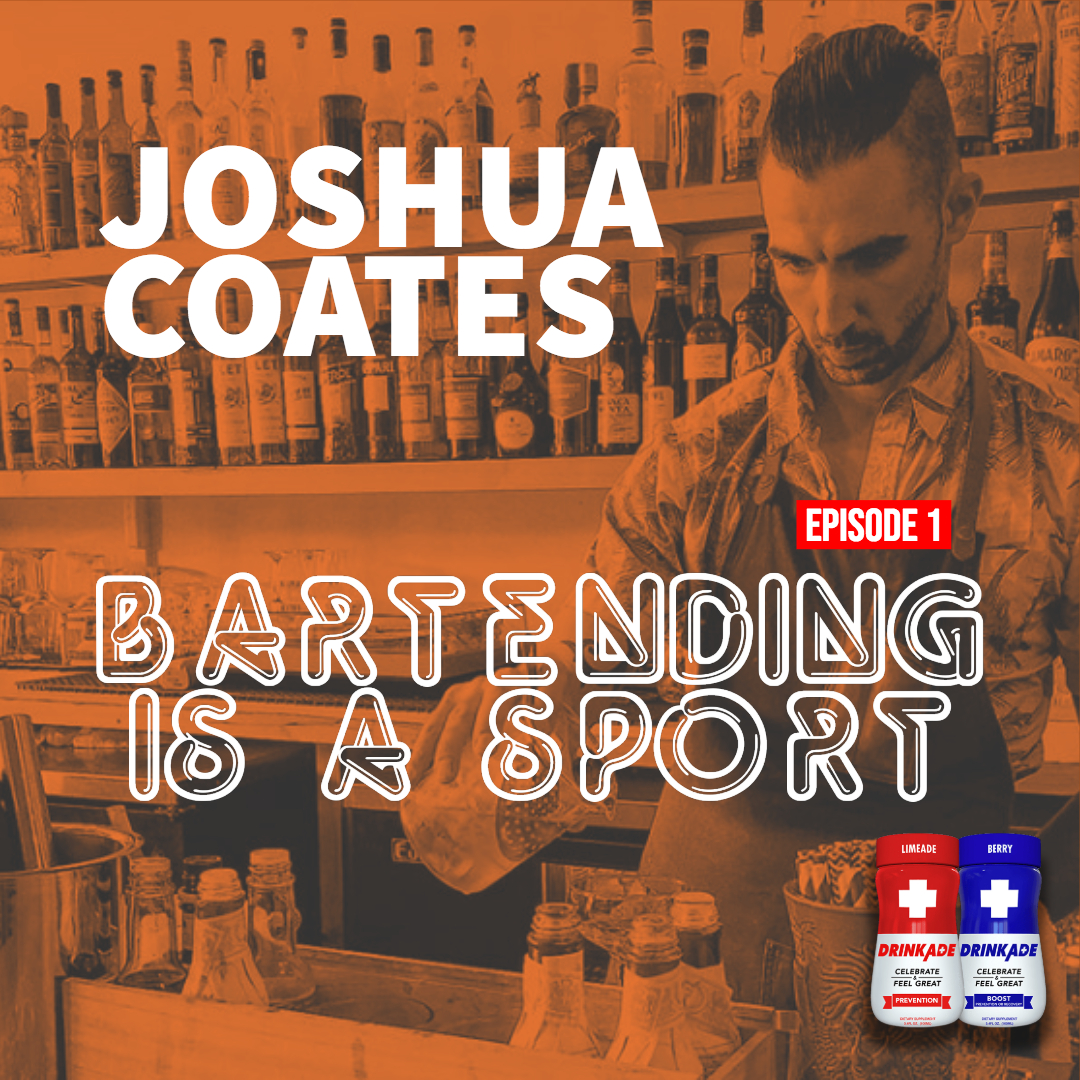Bartending is a Sport is a podcast built in collaboration by DrinkAde and Orange Cattle.