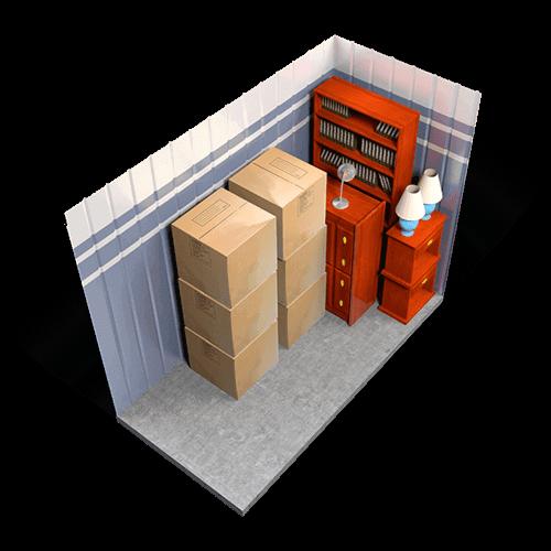 Photo of small storage unit