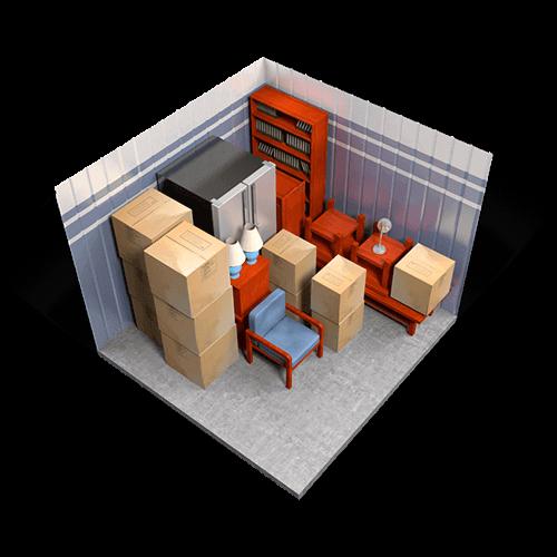 Photo of medium storage unit