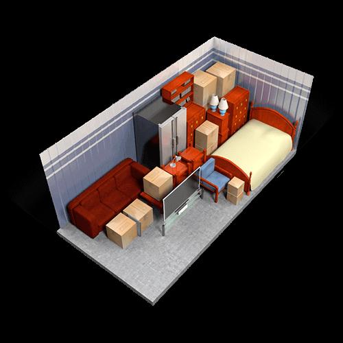 Photo of extra large storage unit