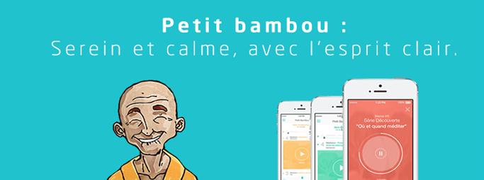 Petit Bambou meilleures applications gratuites pour méditer