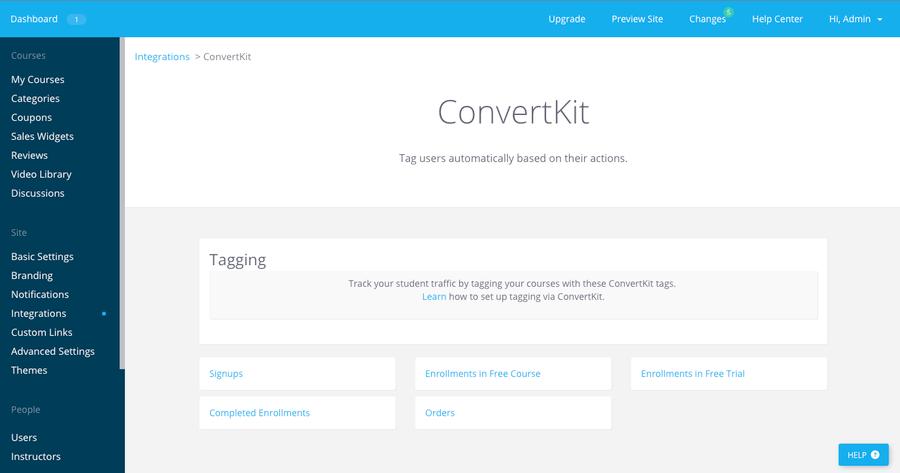 ConverKit - Meilleure alternative Mailchimp