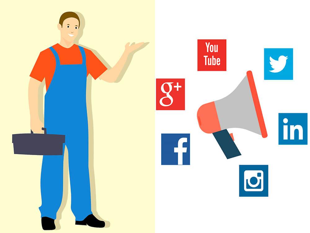 Social Media Marketing for Plumbers plumbing advertising