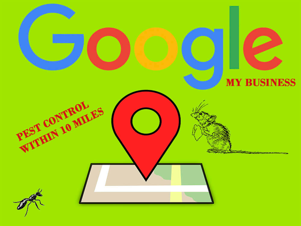 Google My Business pest control marketing