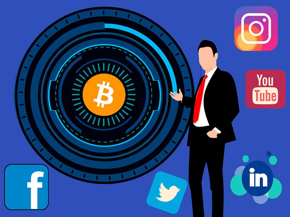 Basing Blockchain Marketing Strategy on Social Media