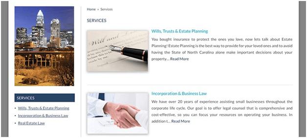 Best Attorney Websites List Their Services law firm websites