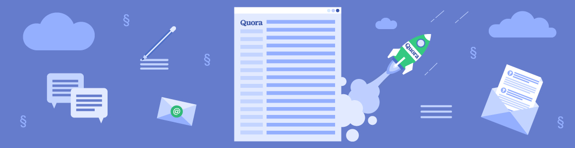Quora — Answering Legal Questions social media marketing for law firms