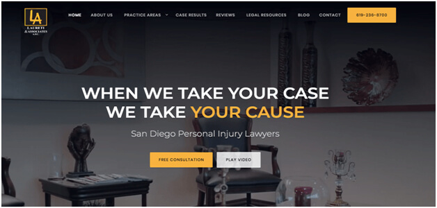 Best Law Websites Include Call-to-Action