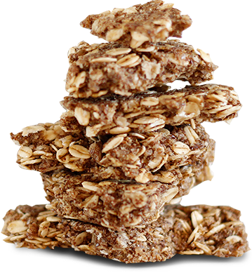 A stack of cinnamon crunch bark