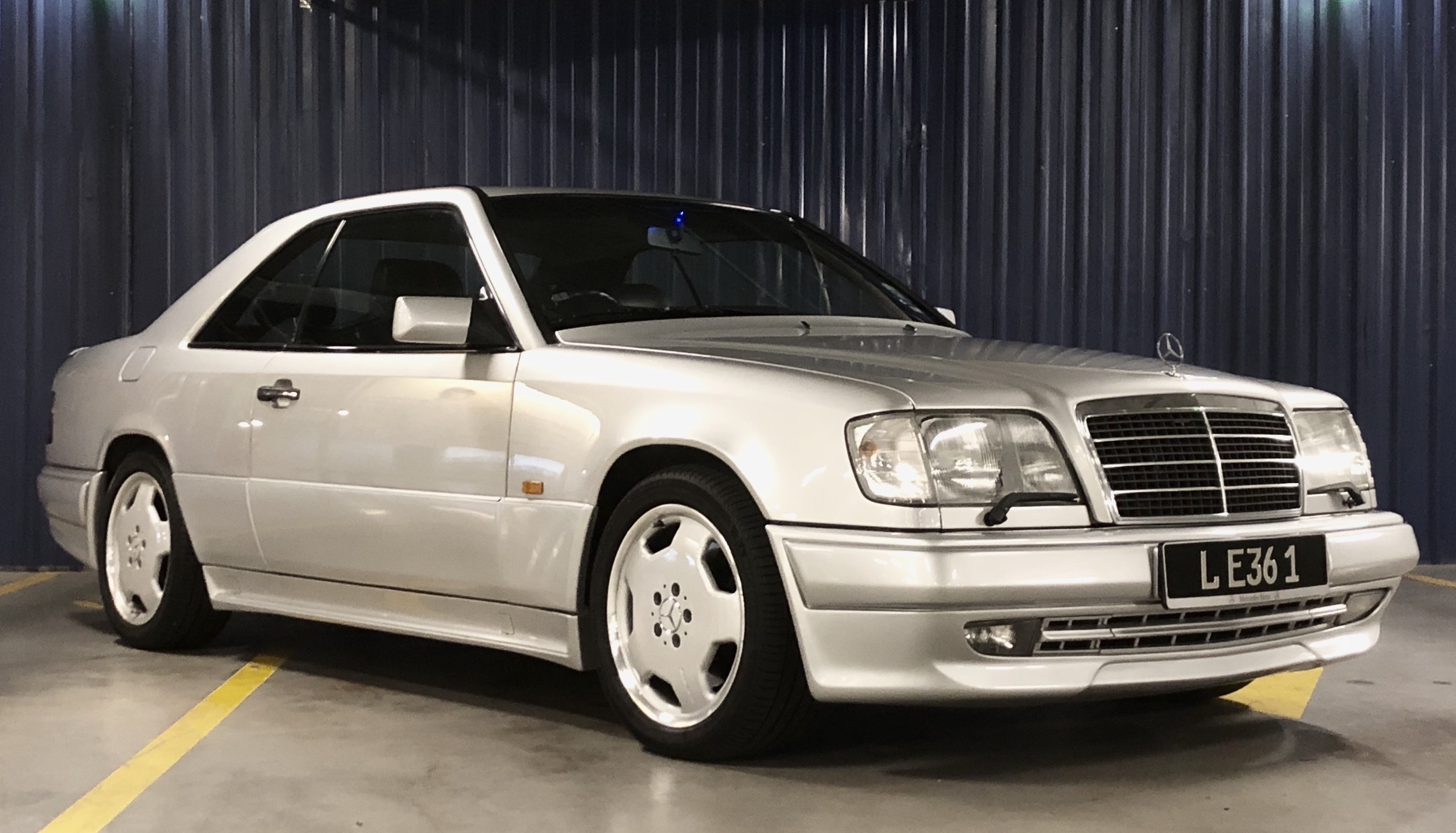 inventory RARE MERCEDES W124 E36 AMG COUPE