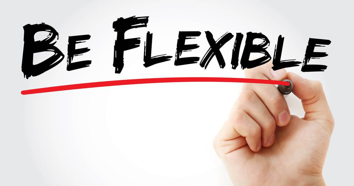 image underscoring flexibility in a changing organization