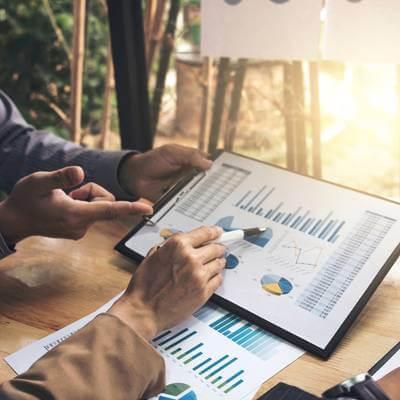 graphical analysis of portfolio data