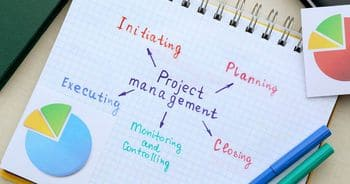 a set of core project processes that might be impacted by governance - planning, executing, controlling, monitoring, closing