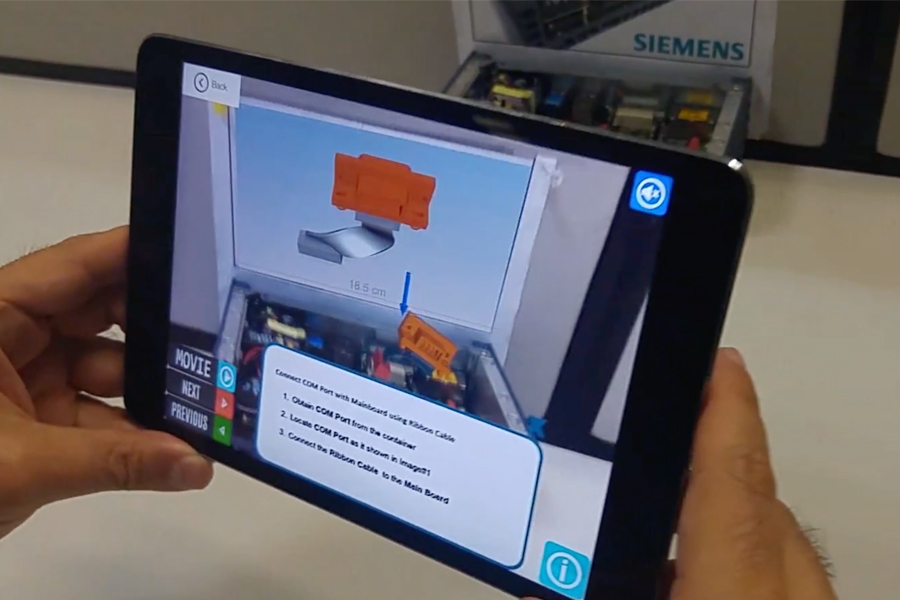 Siemens AR experience training manuals