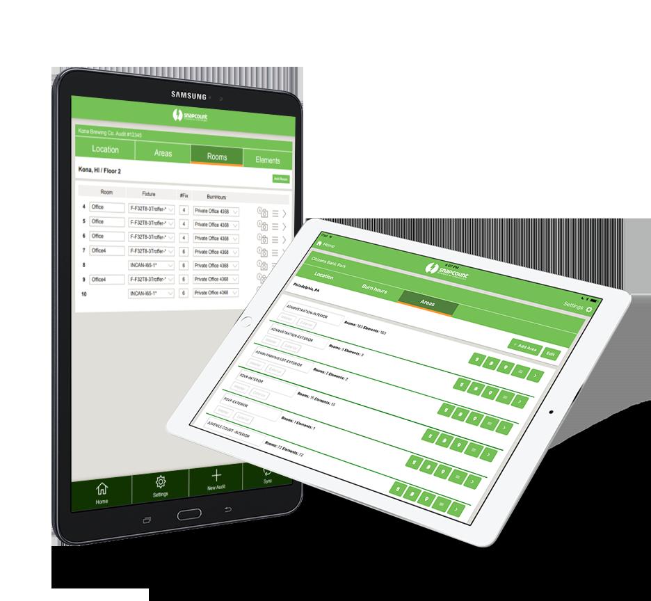 Lighting Audit Software