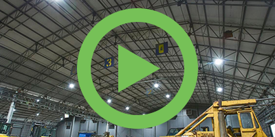 A Close-up Look at UFO High Bays for Warehousing Applications with SATCO