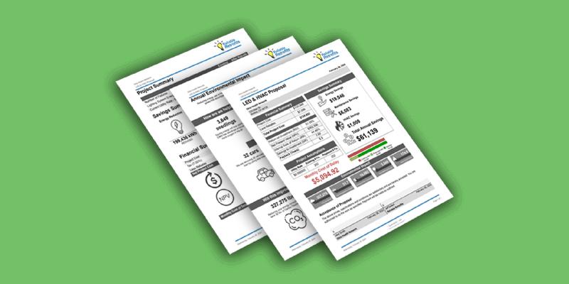Save Time & Money with Custom LED Lighting Retrofit Proposal Templates